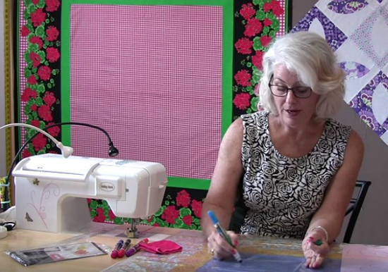 Audition Quilting Designs Right on the Top