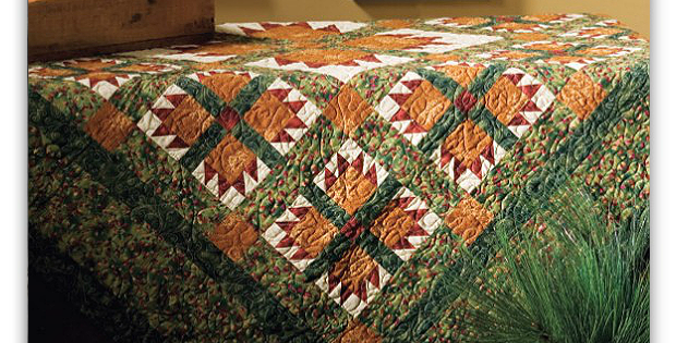 Garden of the Bear Quilt Pattern