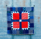 Scrappy Bear Paw Baby Quilt Tutorial