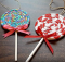Fabric Lollipop Christmas Ornament