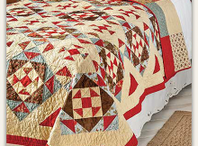 Diamonds in the Rough Quilt Pattern