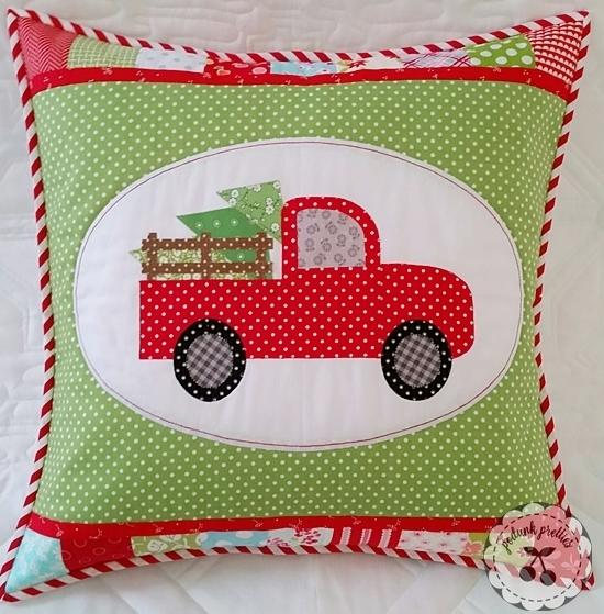 Christmas Memories Pillow Cover Pattern