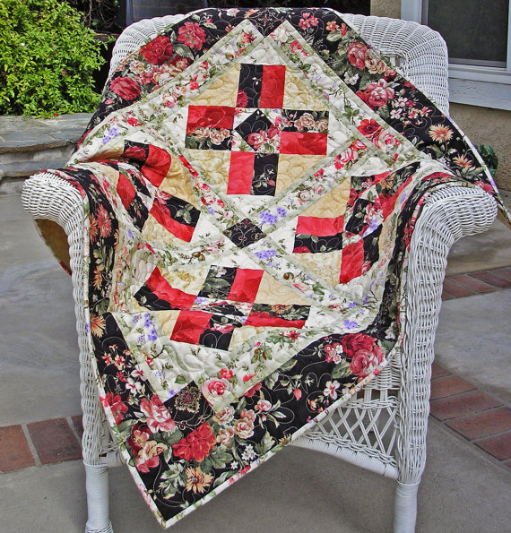 Romantic Rose Quilt Pattern