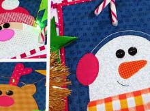 Jingle Bells Mug Rug Pattern