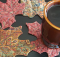 Maple Leaf Mug Rugs Pattern