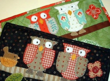 Two Owls Mug Rug Pattern