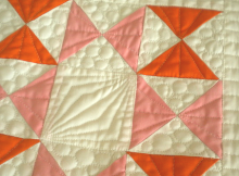Easy Quarter Square Triangle Tutorial