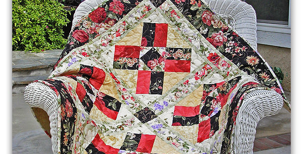 Beautiful Fabric Makes A Simple Quilt Special Quilting Digest