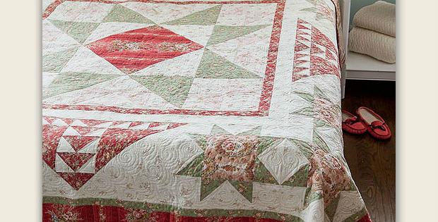 Jessica's Rose Garden Quilt Pattern