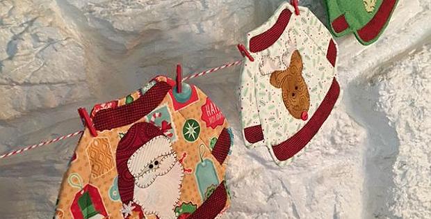 Ugly Christmas Sweater Mug Rugs