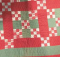 1893 Nine Patch Quilt Pattern