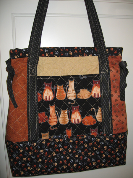 Miss Nancy's Patchwork Tote Bag Simplified