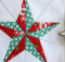 Christmas Star Block Pattern
