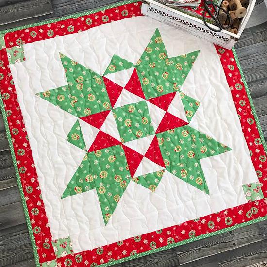 Joyful Star Quilt Pattern