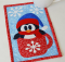 Cup O'Winter Mug Rug Pattern
