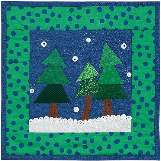 First Snow Quilt Pattern