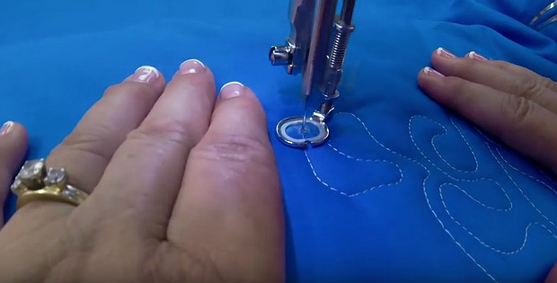 Get Even Stitches with Free Motion Quilting