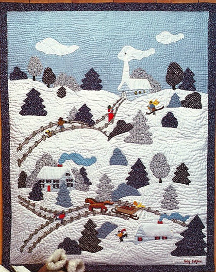 Christmas Village Quilt Pattern