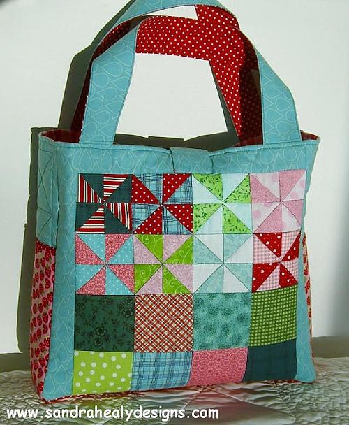 Pinwheel Patchwork Bag Pattern