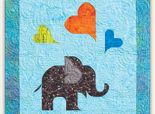 Oliver's Elephant Quilt Pattern