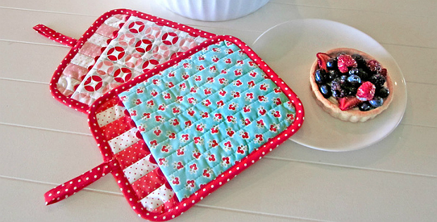 These Patchwork Oven Mitts Are So Easy To Make Quilting Digest