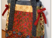 Miss Nancy's Patchwork Tote Bag - Simplified
