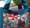Pinwheel Tote Bag