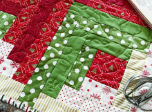 Sew Merry Table Topper