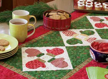 S'mittens Table Runner Pattern