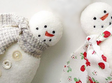 Snowman Christmas Ornament Pattern