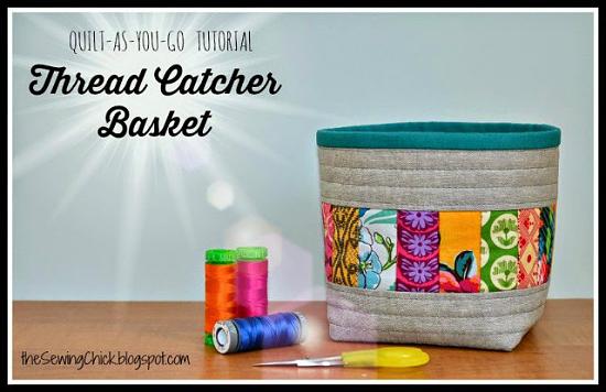 Thread Catcher Basket Tutorial