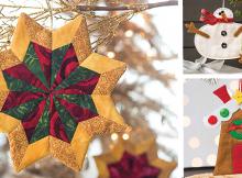 Fabric Tree Ornament Patterns
