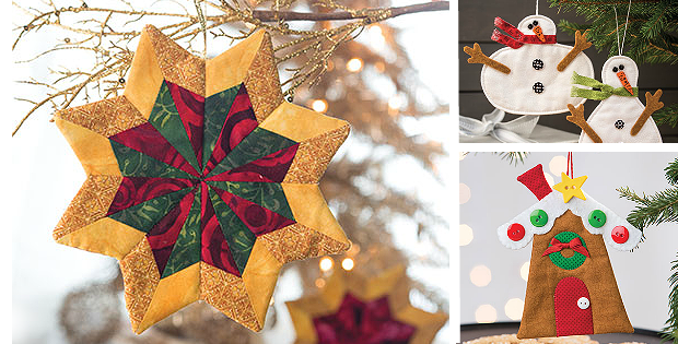Fabric Tree Ornament Patterns