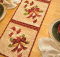 Vintage December Table Runner Pattern