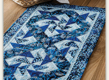Winter Batik Table Runner Pattern