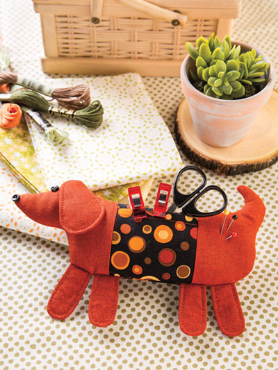 Sew Long, Little Doggie Pincushion Pattern