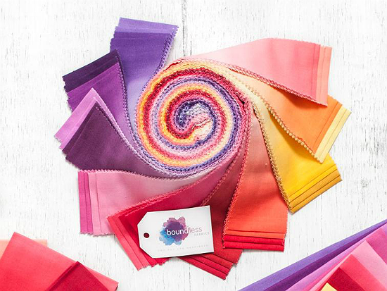 Boundless Blenders Ombre Sunset Jelly Roll