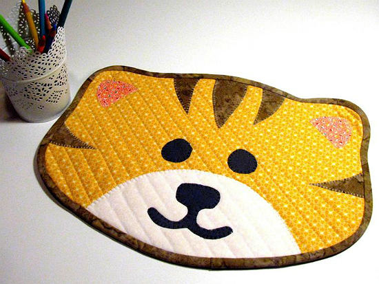 Kitty Cat Placemat Pattern