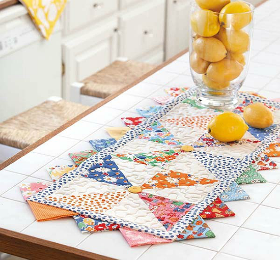 Pinwheels Table Runner Pattern