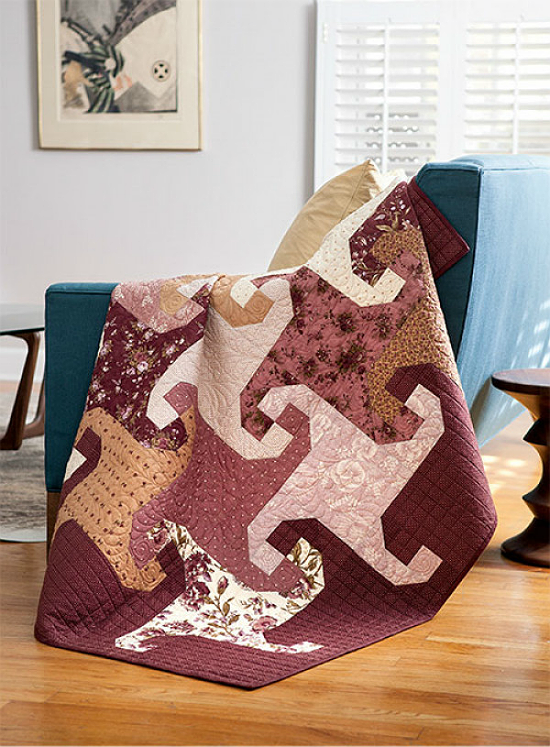 Romantic Trails Quilt Pattern
