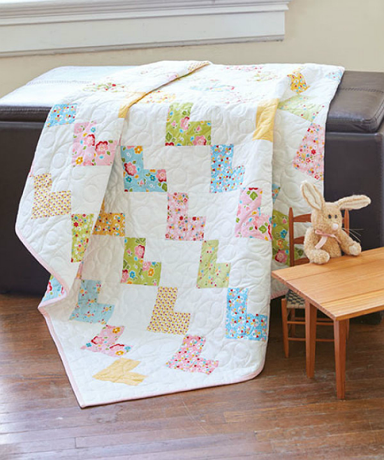 Sweethearts Baby Quilt Pattern