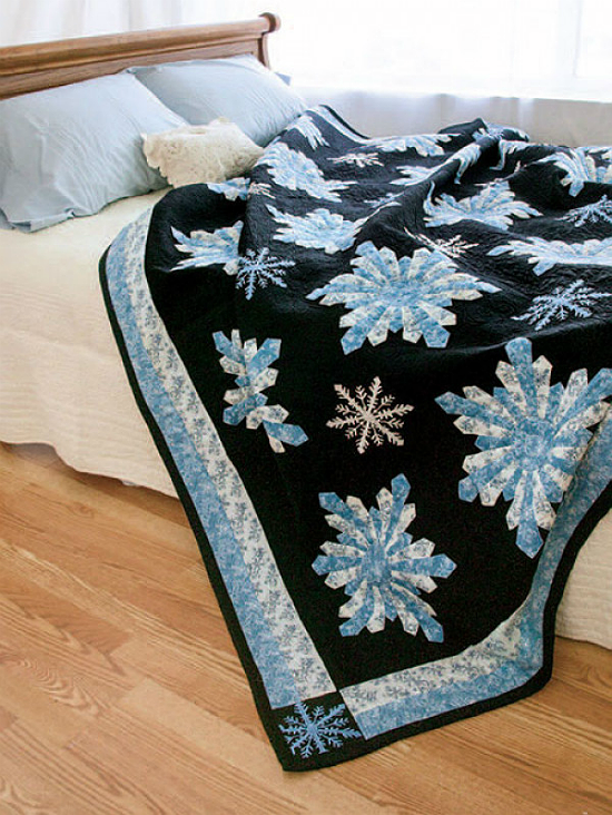 Midnight Snowfall Quilt Pattern