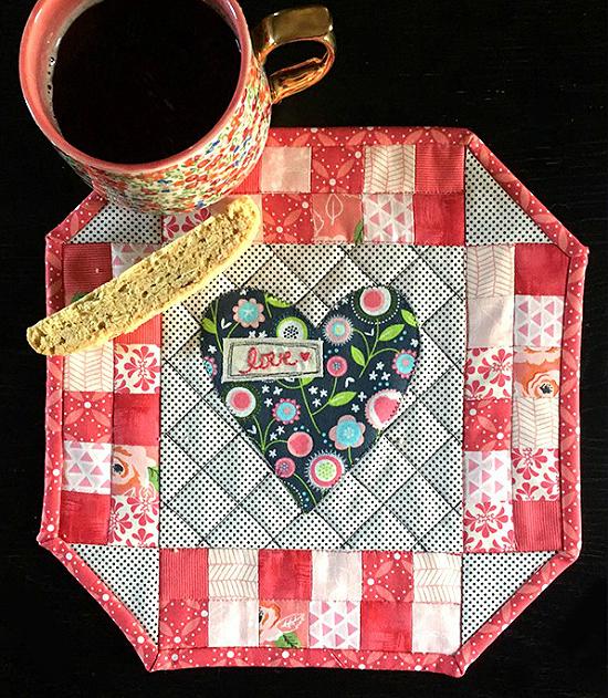 Valentine's Day Mini Quilt Pattern