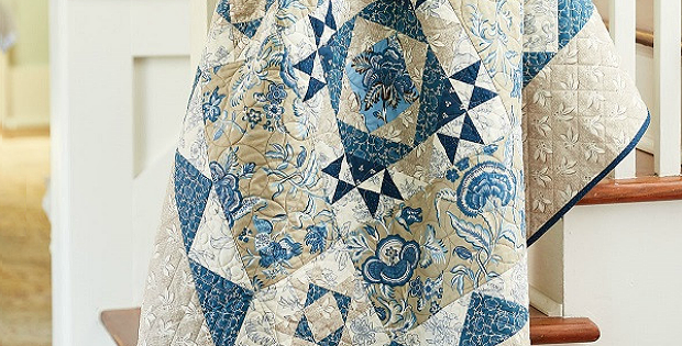 Berry Blue Quilt Pattern