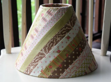Fabric Lamp Shade Tutorial
