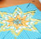 Folded Star Hot Pad Pattern