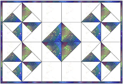 Galaxy Placemat Pattern