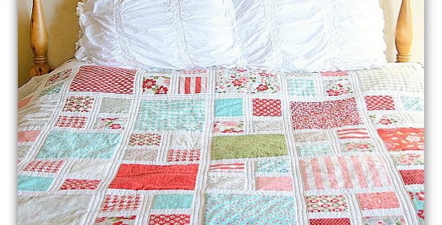 Grandma's Window Quilt Pattern