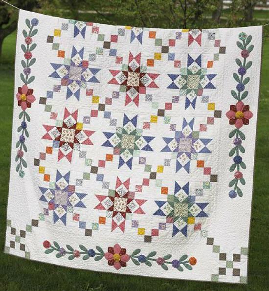 Granny's Stars Quilt Pattern