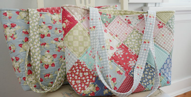Make A Pretty Patchwork Bag From Your Stash